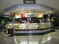 Michel's Patisserie Bankstown Before Fitout