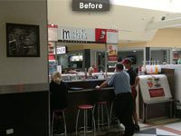 Michel's Patisserie Warilla Before Fitout